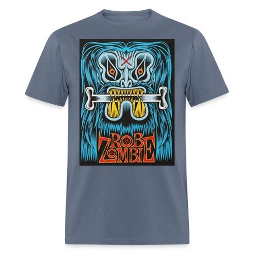 White ZOMBIE limited art print devils rejects - Men's T-Shirt