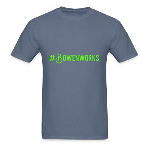 Green #Bowenworks - Men's T-Shirt