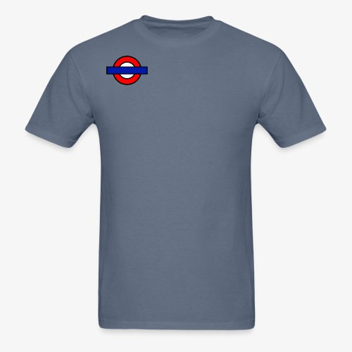 London Underground Coloured - Men's T-Shirt