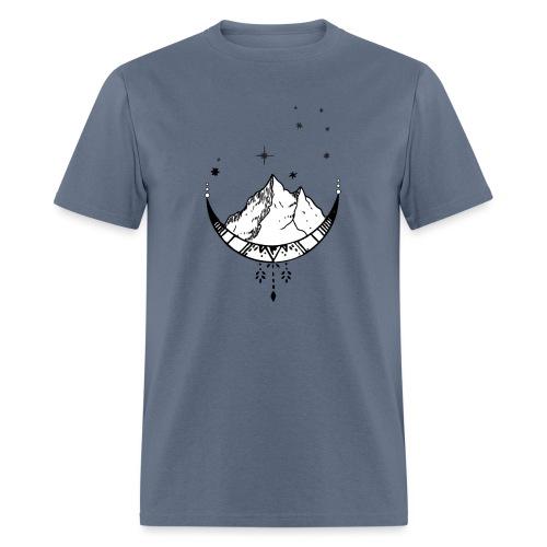 Celestial Travel Moon - Men's T-Shirt