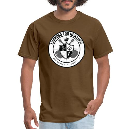 Looking For Heather - Crest Logo - Men's T-Shirt