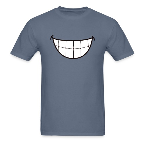 SMILE FACE MASK - Men's T-Shirt
