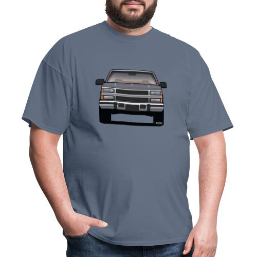 Design Icon: American Bowtie Silver Urban Truck - Men's T-Shirt