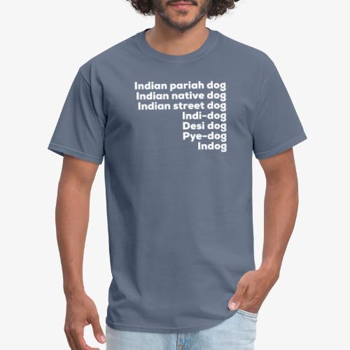 Indian Pariah Dogs - Men's T-Shirt