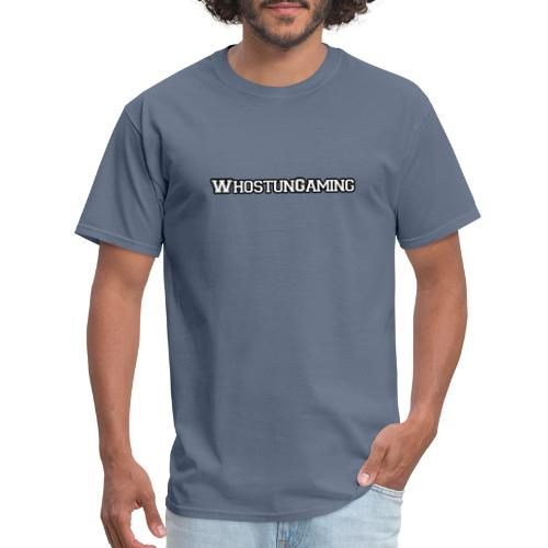 WhoStun Gaming Block college style - Men's T-Shirt