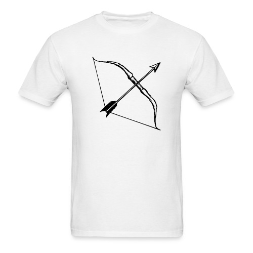 bow and arrow 3 - Men's T-Shirt
