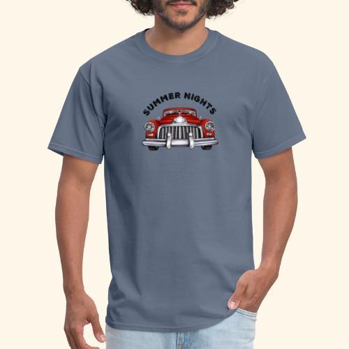 car show summer nights Design - Men's T-Shirt