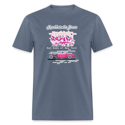 Rumble Bronx Pink Rat Rod 1 - Men's T-Shirt