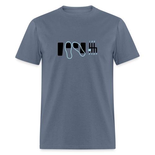 heeltoe - Men's T-Shirt