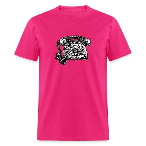Vintage Telephone - Hot Line - Men's T-Shirt