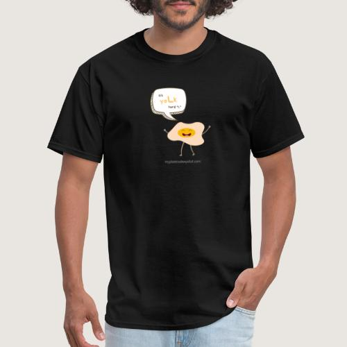 yoLk hard L - Men's T-Shirt