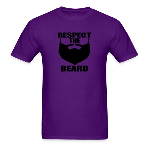 Respect the beard 03 - Men's T-Shirt