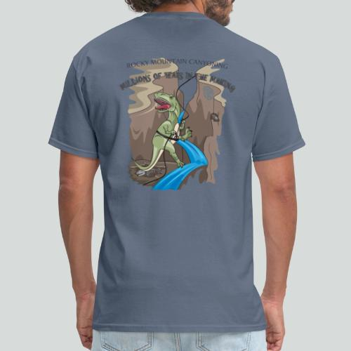 MILLION YEARS IN THE MAKING-on light back-2 sided - Men's T-Shirt