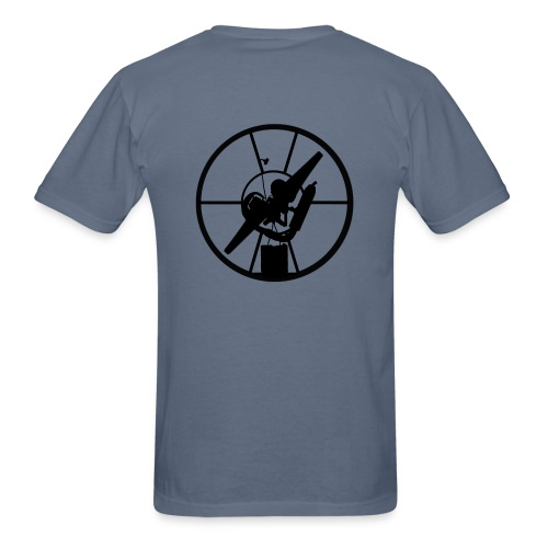 Paramotor Back - Men's T-Shirt
