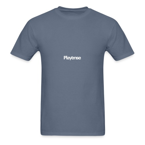 Playense White Logo - Men's T-Shirt