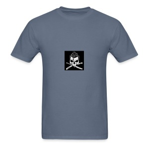 Greaser skull - Men's T-Shirt