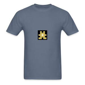 YELLOW hashtag - Men's T-Shirt