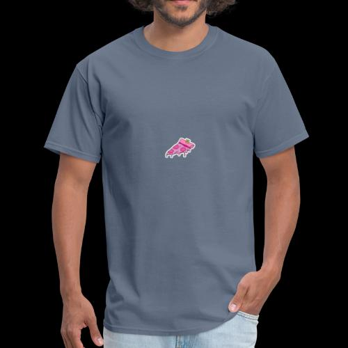 pink pizza - Men's T-Shirt