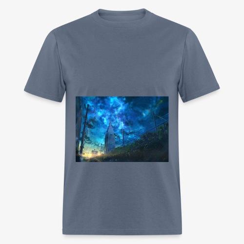 blue sky - Men's T-Shirt