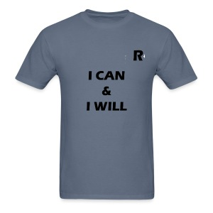 RayTive ICAN IWILL - Men's T-Shirt