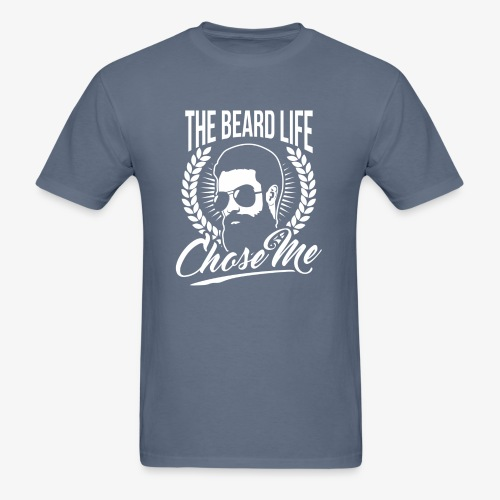 Beard Chose Me - Men's T-Shirt