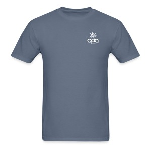 Short Sleeve T-Shirt with small all white OPA logo - Men's T-Shirt