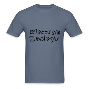Wisconsin Zoology - Men's T-Shirt