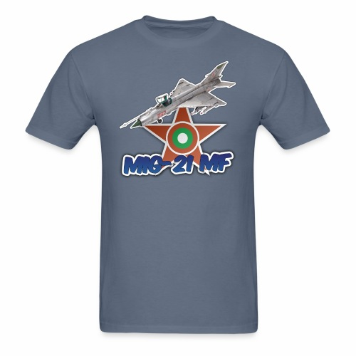 Bulgarian Air Force Mig-21 MF Jet Fighter - Men's T-Shirt