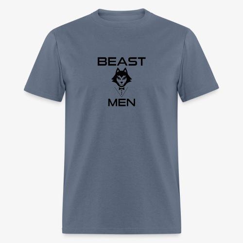 BEAST MEN WOLF PNG - Men's T-Shirt