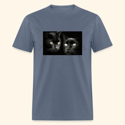 Black cats best wallpaper - Men's T-Shirt