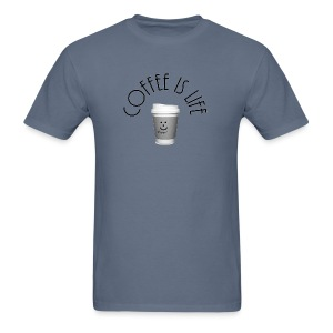 Coffee is life - Men's T-Shirt