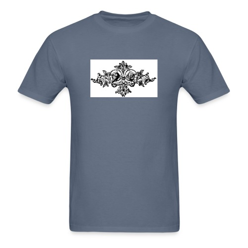 floral motif 6 lg - Men's T-Shirt