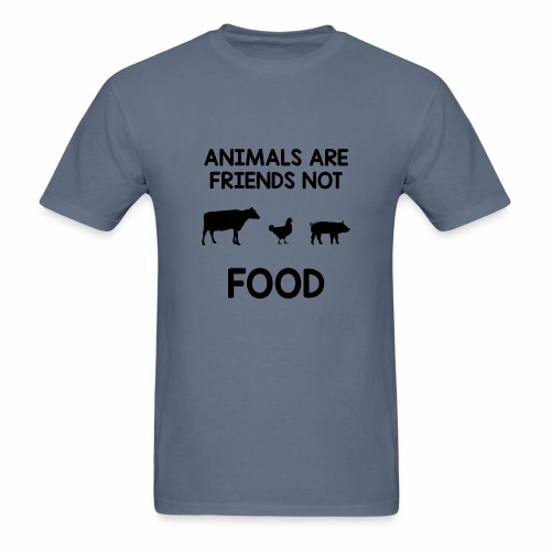 Animals Are Friends Not Food - Men's T-Shirt