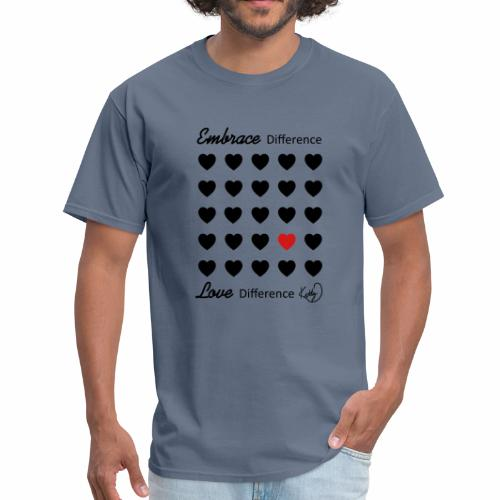 Embrace Difference, Love Difference - Men's T-Shirt