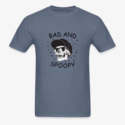 Bad and Spoopy - Men's T-Shirt
