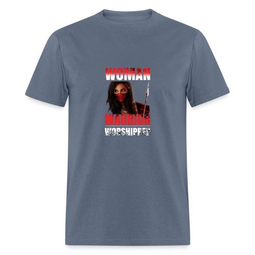 Woman warrior worshipper - Men's T-Shirt
