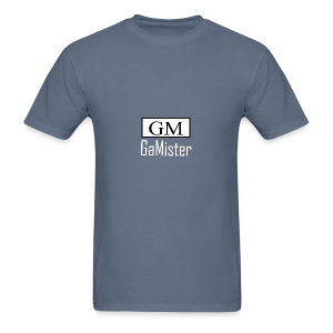 gamister_shirt_design_1_back - Men's T-Shirt