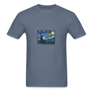 Starry Night Drone - Men's T-Shirt