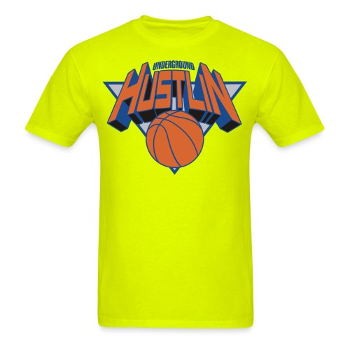 Underground Hustlin and Ballin - Men's T-Shirt