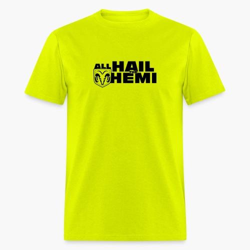 Hail Hemi (Black) - Men's T-Shirt