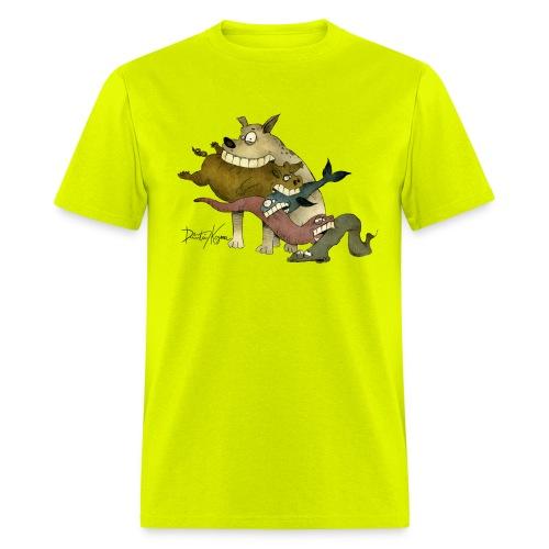 Food Chain - v. Color - Men's T-Shirt