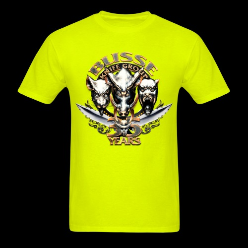 bkg35thannimversarytransparent - Men's T-Shirt
