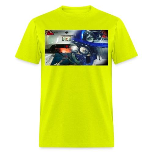 Big turbo GC8 370z fire - Men's T-Shirt