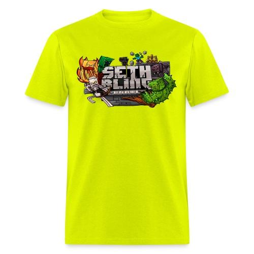Seth SCB Fixed png - Men's T-Shirt