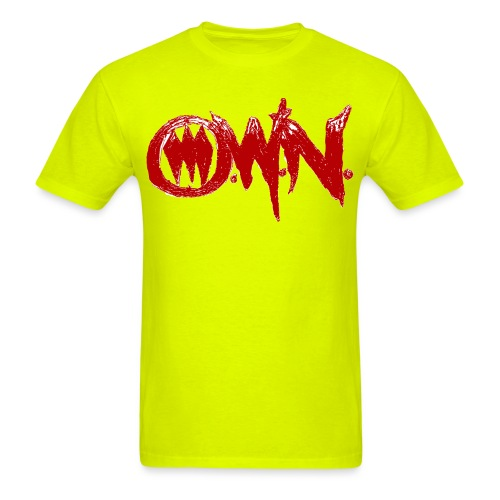 OWNRed Converted png - Men's T-Shirt