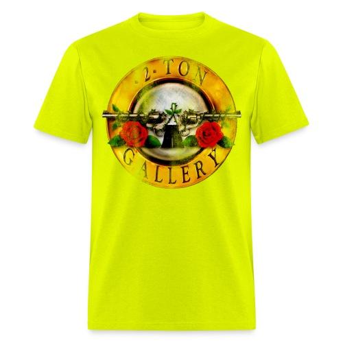 2tonrosesdistressed - Men's T-Shirt