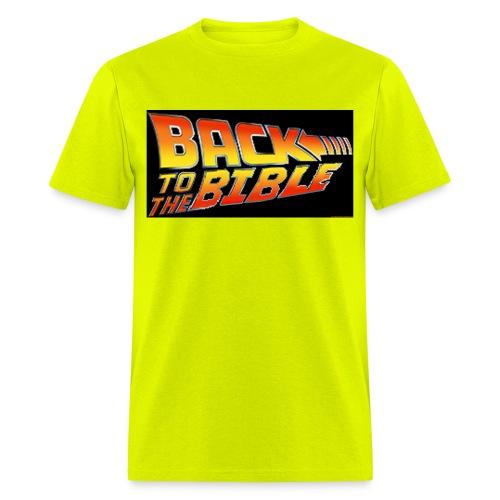 back to the bible tshirt - Men's T-Shirt
