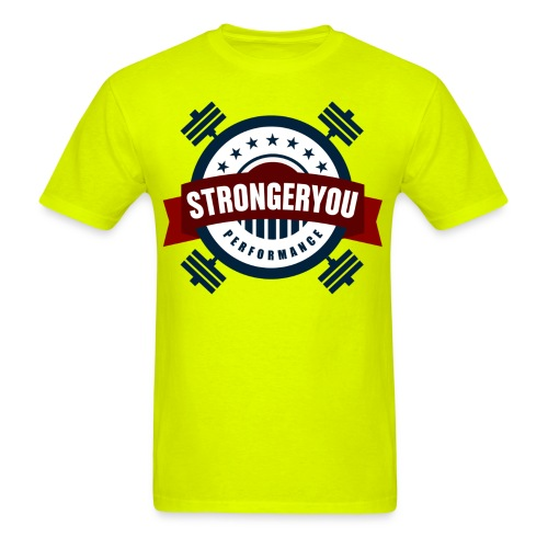 StrongerYouPersonalTraini - Men's T-Shirt