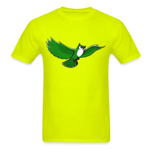 owlflyinggreen - Men's T-Shirt