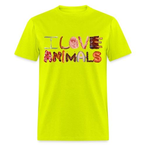 I Love Animals - Men's T-Shirt